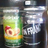 Boisson overstim hydrixir multifruits et bidon ta made in france