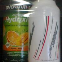 Boisson overstim hydrixir orange mangue et bidon fsc