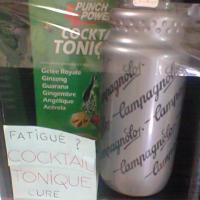 Cocktail tonique punch power et bidon campagnolo