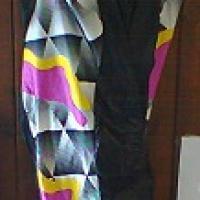 Cuissard violet jaune gris 3