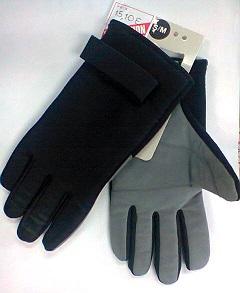 Gants noir gris s m 1