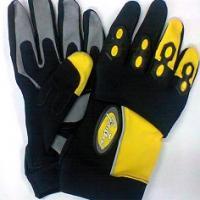 Gants noir jaune xxxl