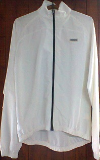 Impermeable shimano blanc