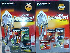 Overstim pack cyclosport