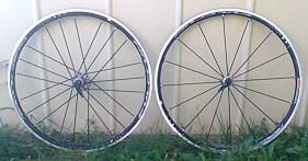 Paire roues fulcrum racing zero c17