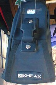 Sacoche de velo kheax noire