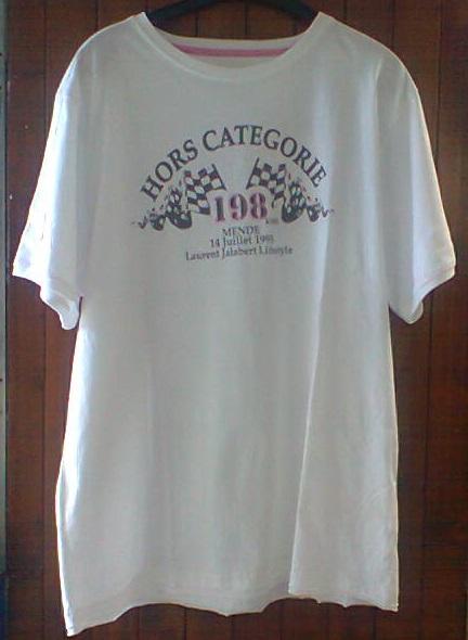 Tee shirt croix neuve
