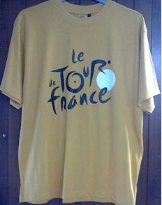 Tee shirt tdf jaune